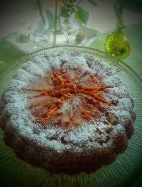 Orangenkuchen, Kuchen mit Orangen